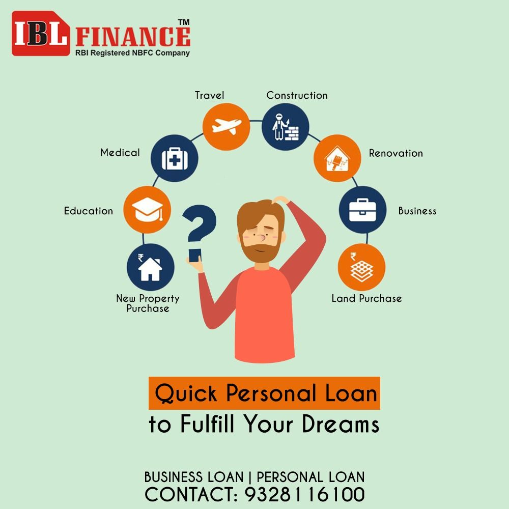 Quick Personal Loan To Fulfill Your Dreams Business Loan Personal Loan Call Now 9328116100 Personalloan Business Loans Dream Business Business Education