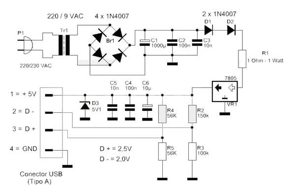 Circuito Usb : Circuito electrónica y electricidad pinterest