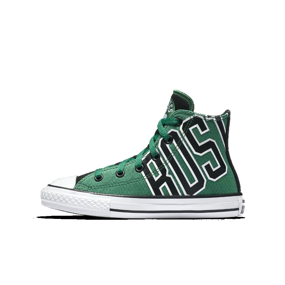9f95b532ff7b Converse Chuck SE Boston Celtics Franchise High Top Big Kids  Shoe Size 12C  (Green)