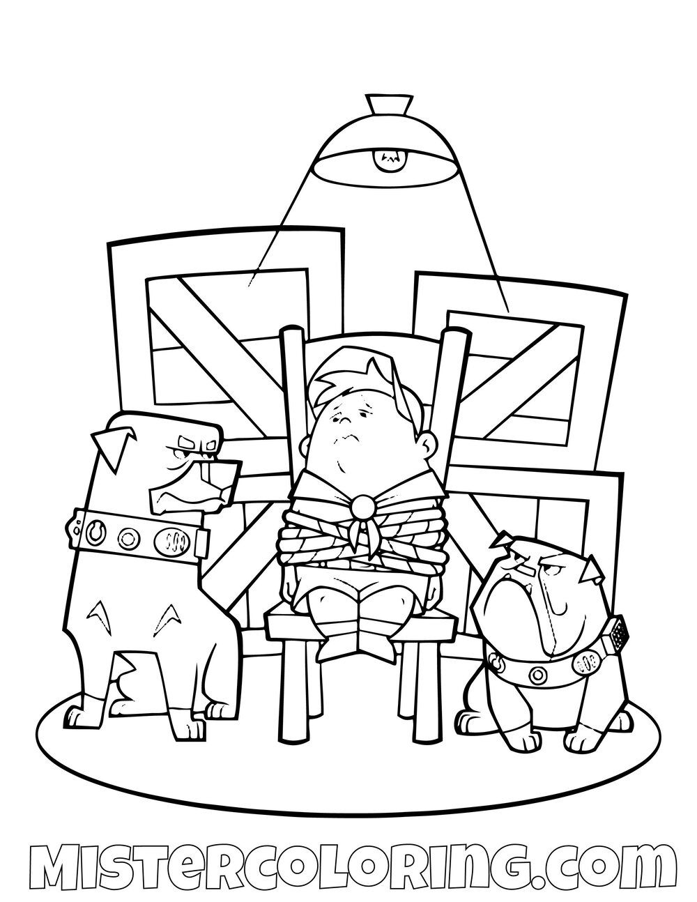 Russell Arrested Disney Pixar Up Movie Coloring Pages For Kids Dog Coloring Book Coloring Pages For Kids Coloring Pages
