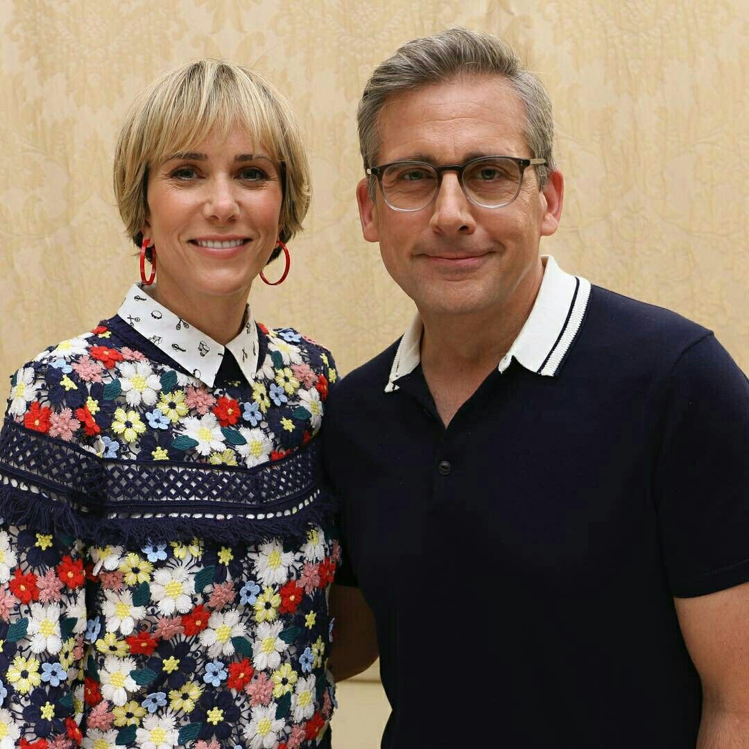 Kristen Wiig and Steve Carell