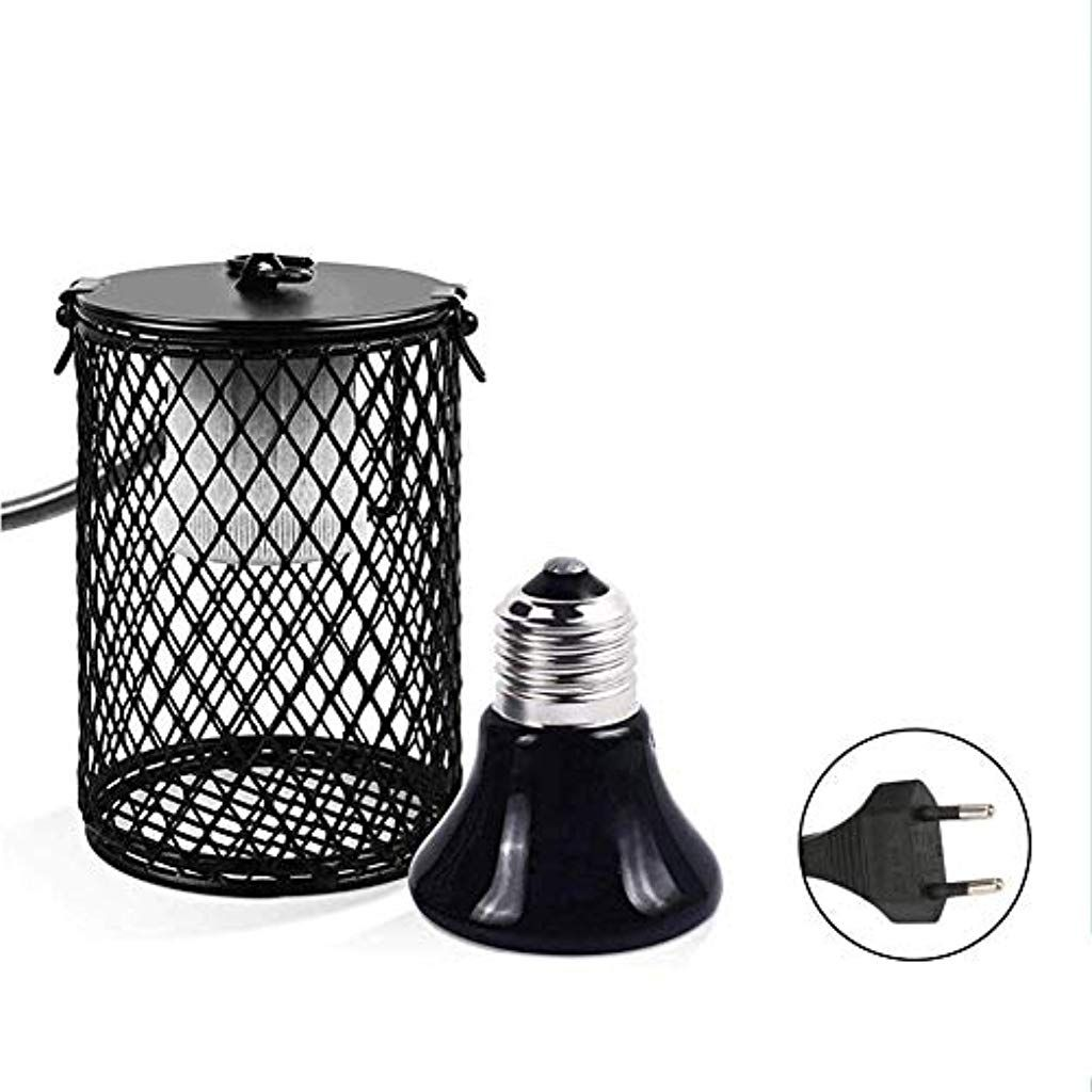 Lampe Chauffante Terrarium 50w En Ceramique Anti Brulure Lampe
