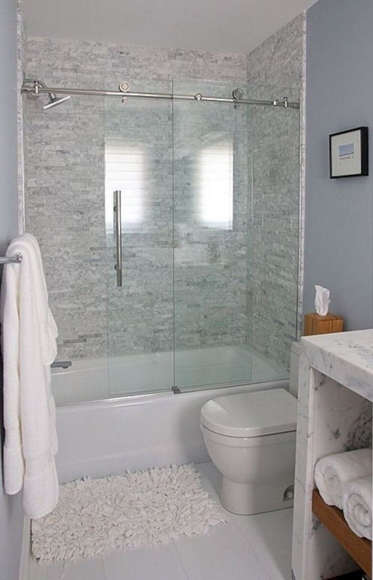 41 Gorgeous Small Bathroom Remodel Bathtub Ideas With Images
