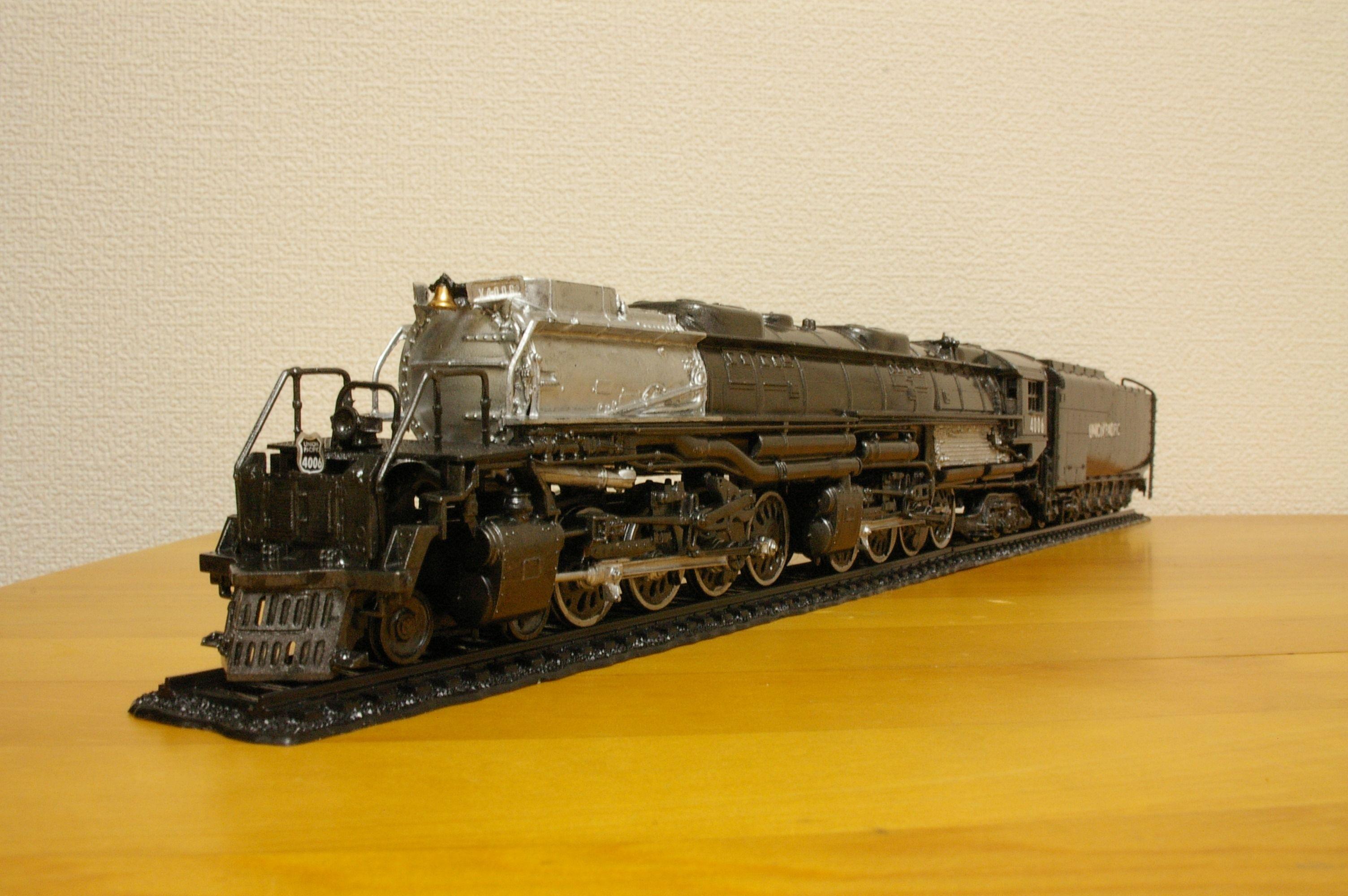 ユニオン・パシフィック鉄道Big Boy 1/87 Big Boy Locomotive Plastic Model Kit Union Pacific Revell