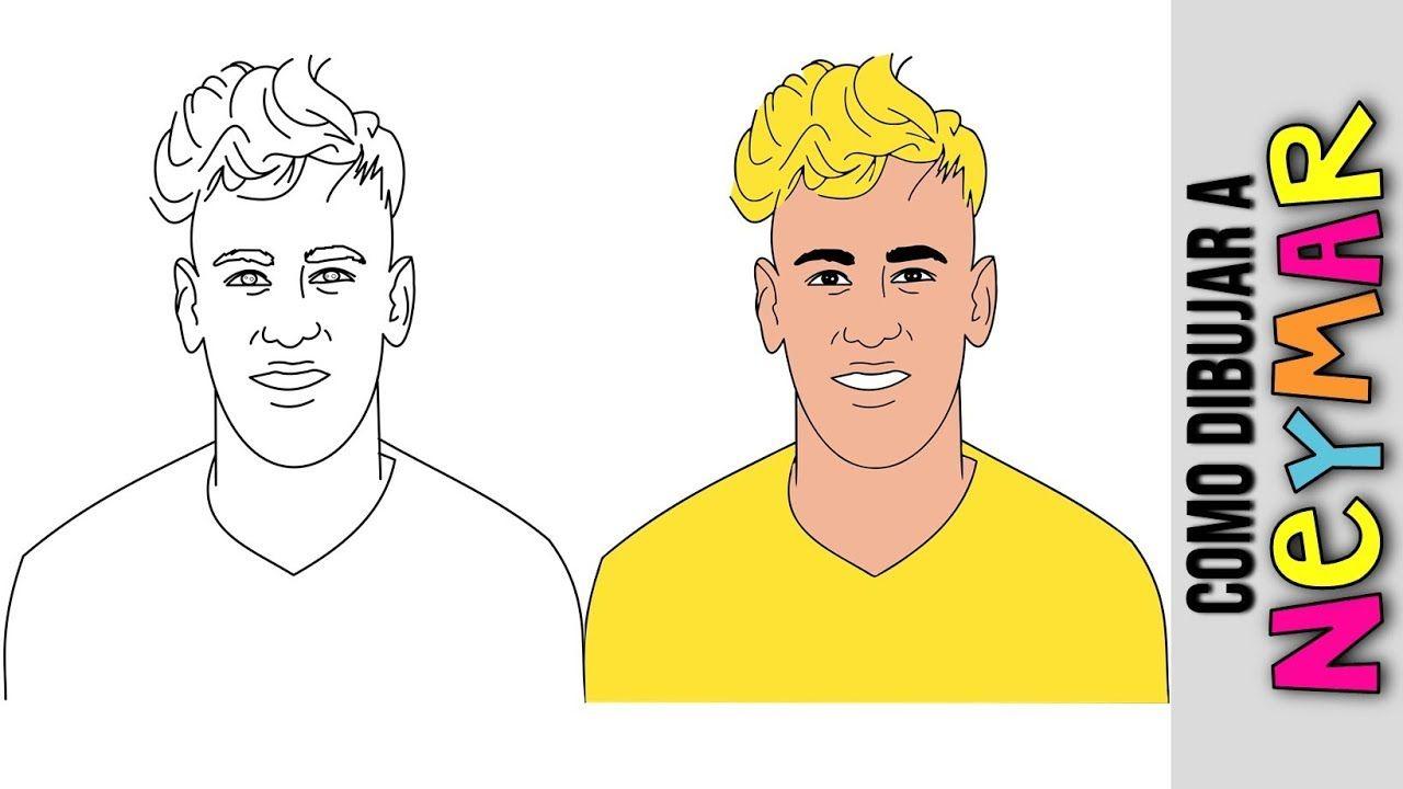 Neymar Dibujos Dibujos Para Colorear Dibujos A Lapiz Clases De Dibujo Para Ninos Personajes De Cartoon Network Dibujos Para Colorear