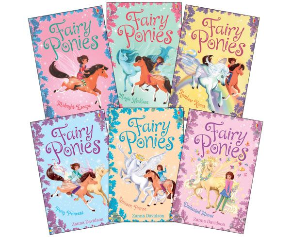 Fairy Ponies Complete Collection (6) AGES: 7-11
