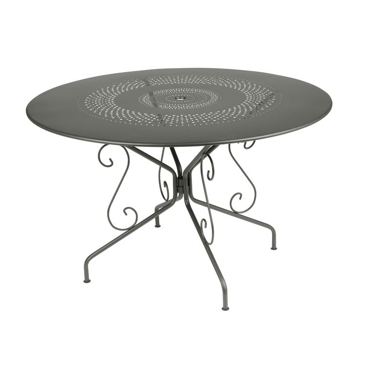 Best Table De Jardin Ronde Retro Contemporary - House Design ...