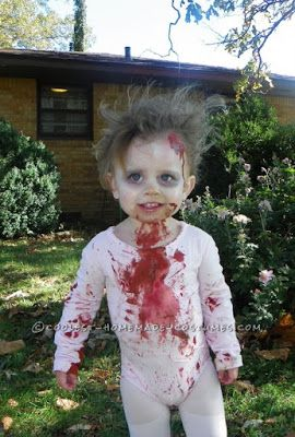 Zombie Halloween Costume idea for toddlers