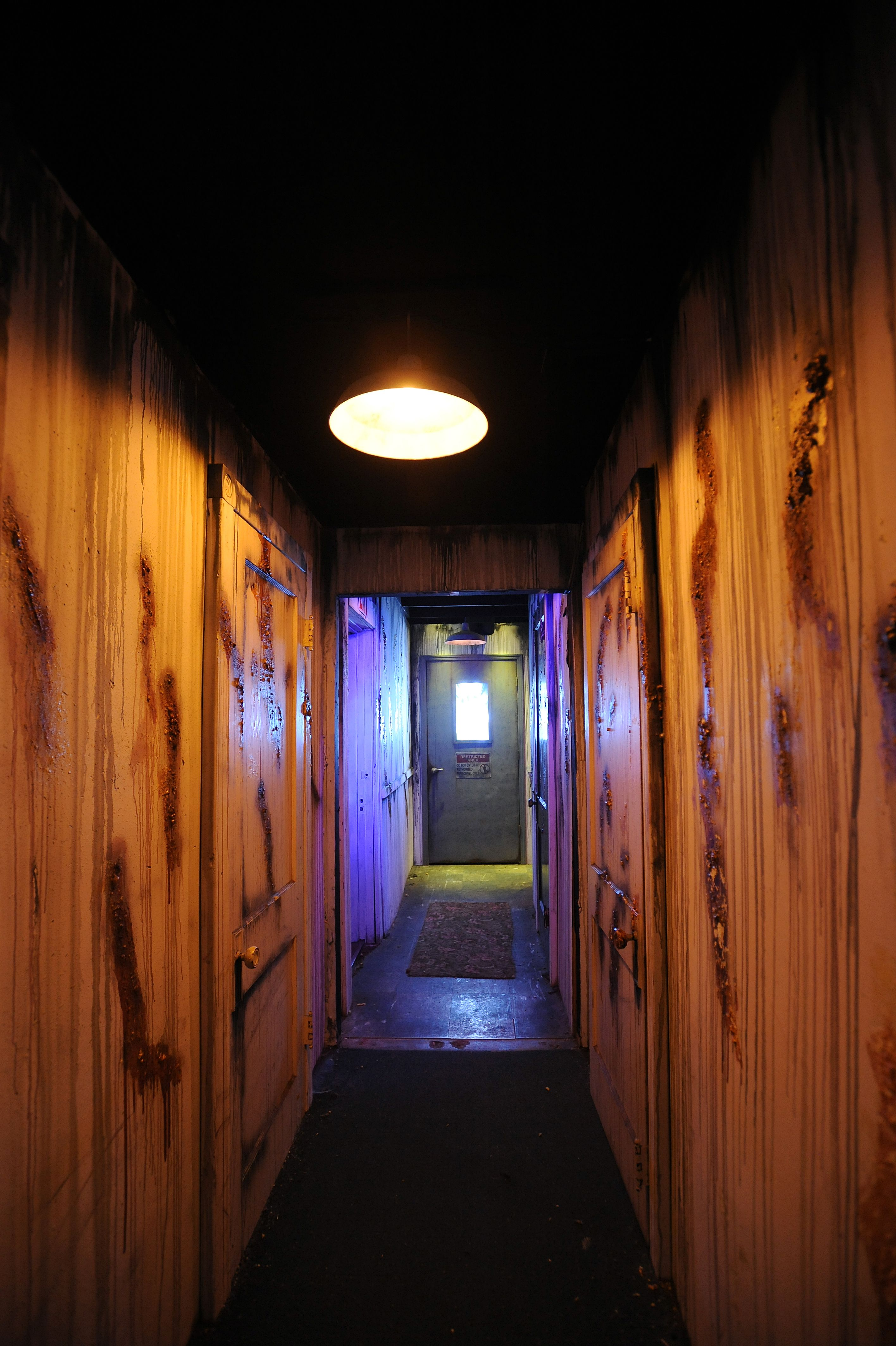 Uncategorized Garage Haunted House raycliff manor asylum halls www raycliffmanor com halloween garage haunted