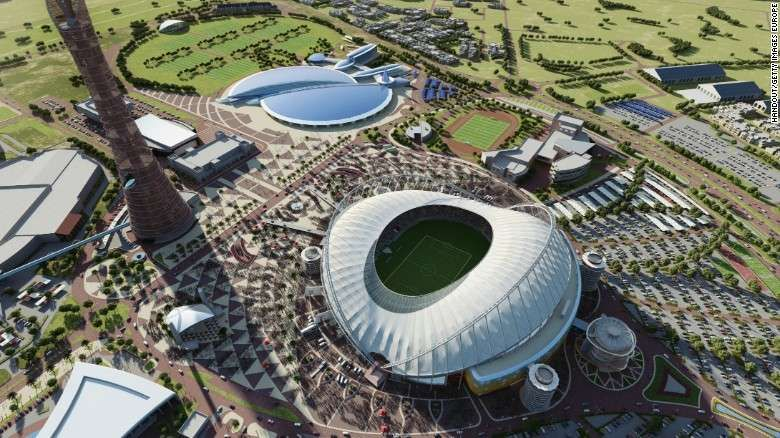 Qatar S Football World Cup 2022 Will Be A Carbon Neutral Tournament With Zero Harmful Emissions World Cup Stadiums World Cup 2022 Qatar