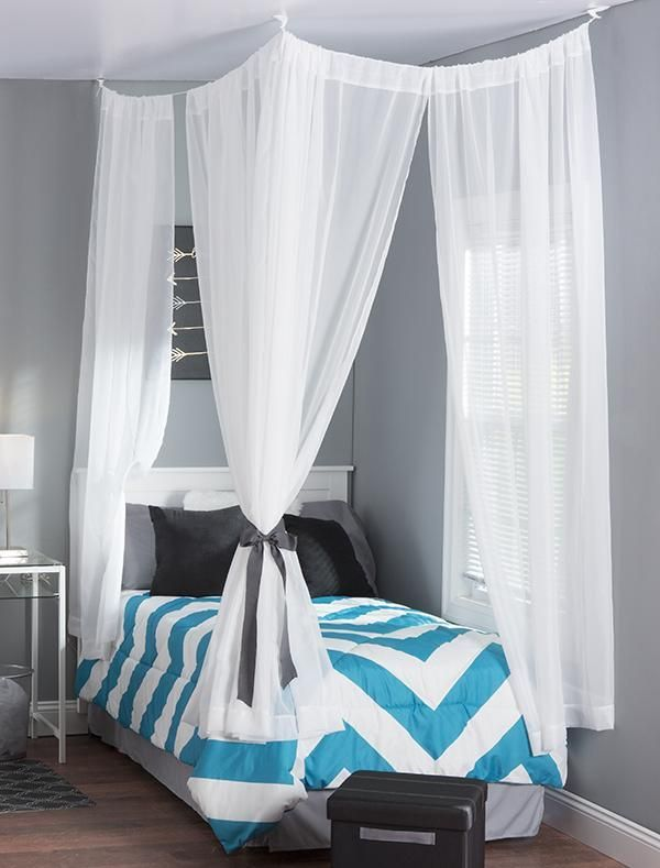 19 Beautiful Canopy Beds That Will Create A Majestic Ambiance To Any Small Bedroom Design & 19 Beautiful Canopy Beds That Will Create A Majestic Ambiance To ...
