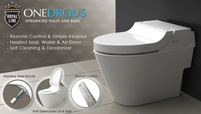 Royal Line Integrated Toilet & Bidet