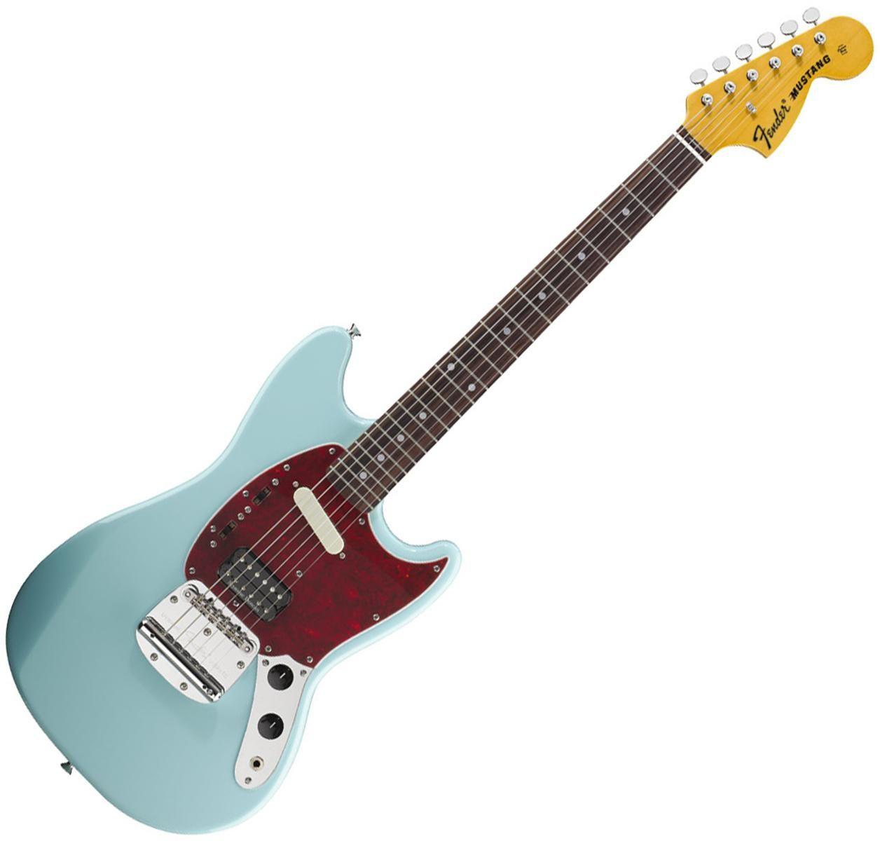 Kurt Cobains Fender Mustang in Sonic Blue <3 | Amazing Guitars ...