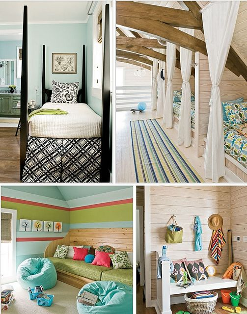 Bedroom for that dream beach house I'll someday own!