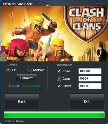 clash of clans hack android free download