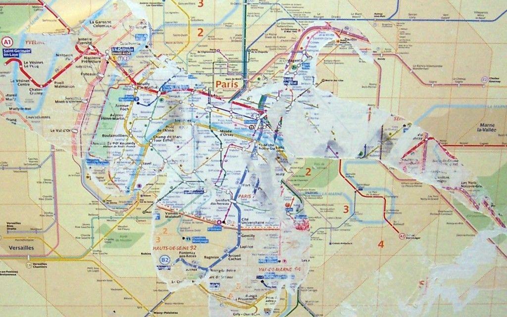 Aquarius Puzzles Subway Map.Paris Metro Layers And Layers Maps Paris Metro Map Website