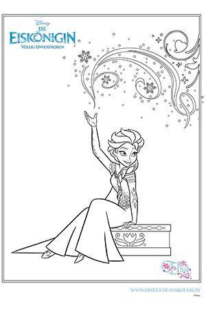 ausmalbild - elsa | ausmalbild eiskönigin, ausmalbilder anna und elsa, ausmalbilder