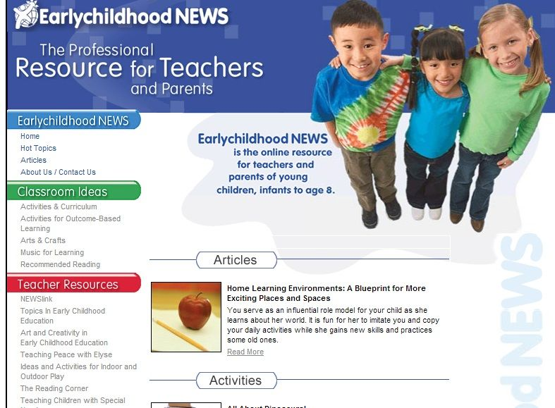 Earlychildhood News Classroom Ideas Teaching Resources For