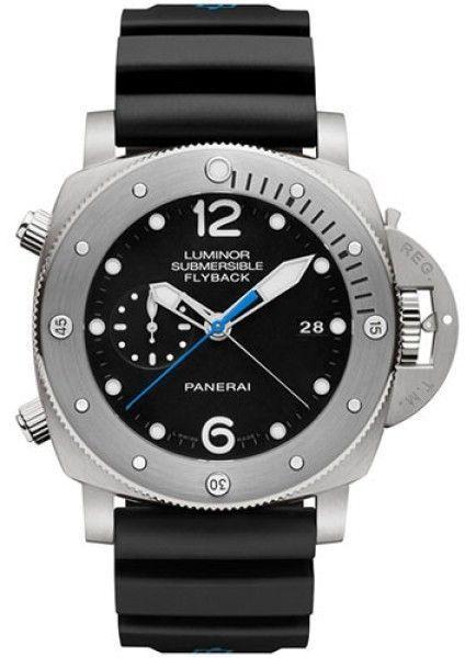 1cd1dd2825c Panerai Luminor PAM00614 Titanium   Rubber Automatic 47mm Mens Watch ...