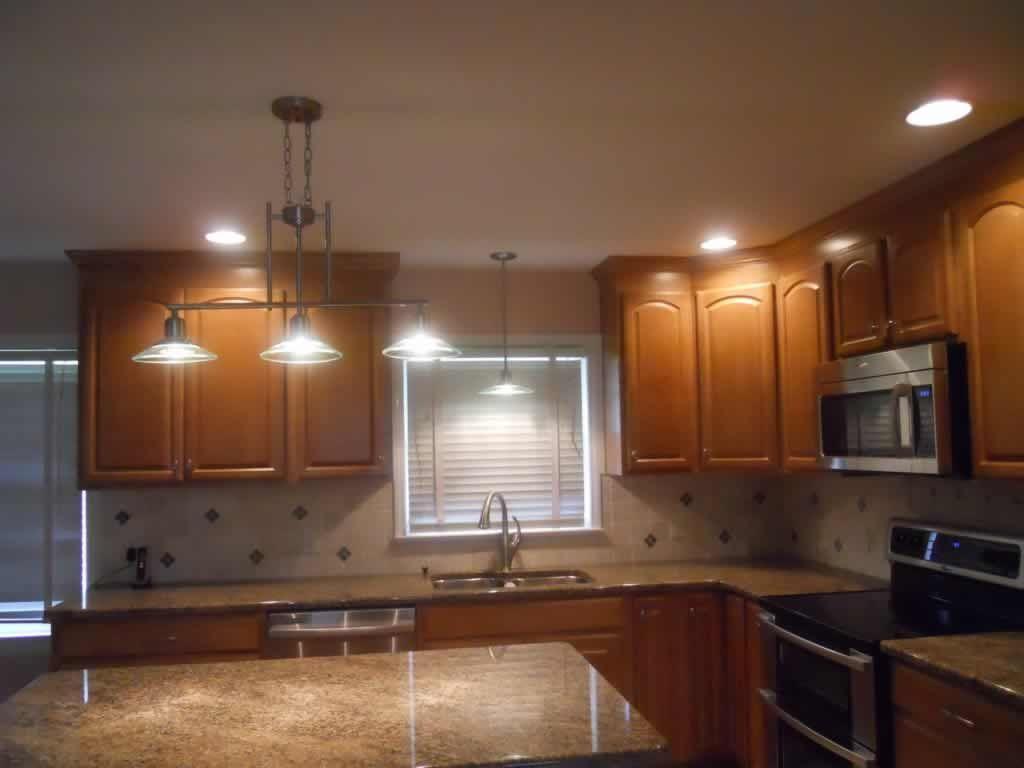 Großzügig Wie Einbauleuchten In Der Küche Zu Installieren Fotos .