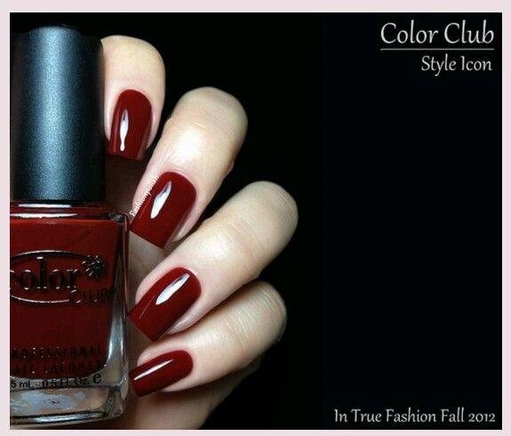Crimson Nail Polish: Crimson Fingernail Polish