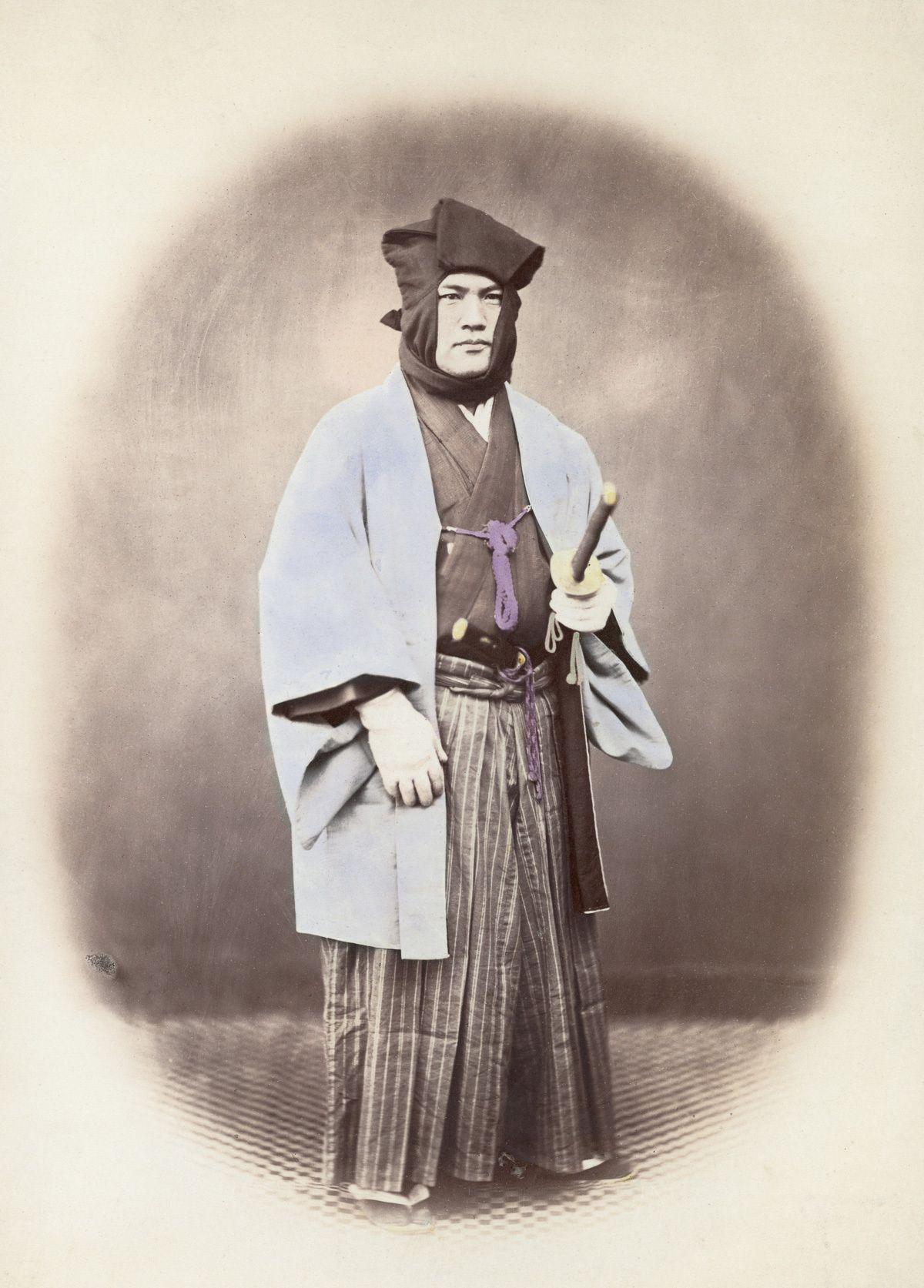 Rare color samurai photos 18