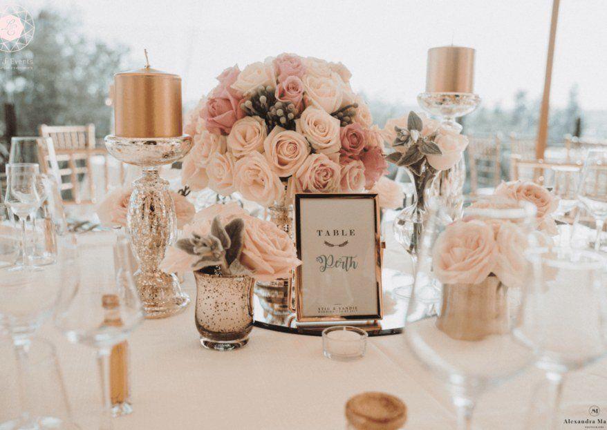 Nom de table du mariage : exemples originaux et personnalisables en 2020   Nom de table mariage ...