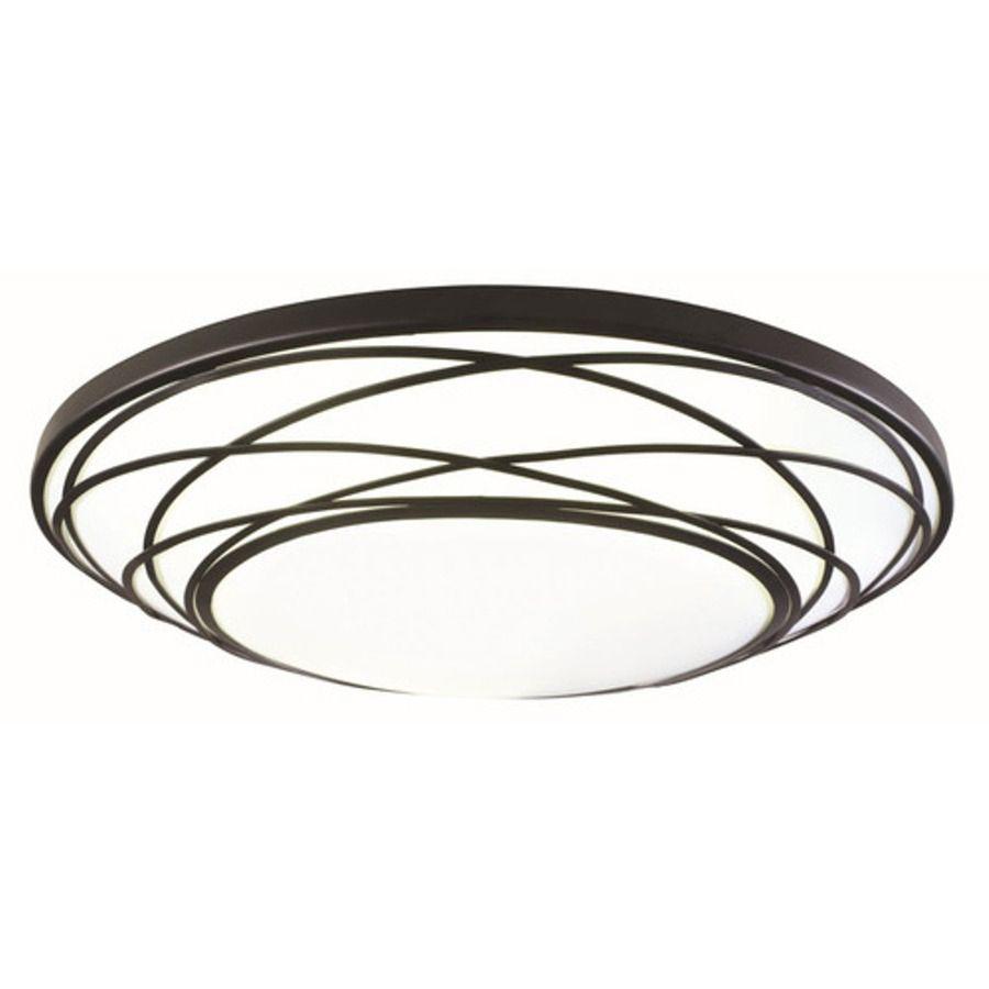portfolio in w black led ceiling flush mount light  light  - portfolio in w black led ceiling flush mount light
