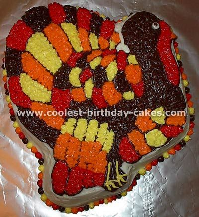 Coolest Thanksgiving Cake Ideas And Turkey Cakes