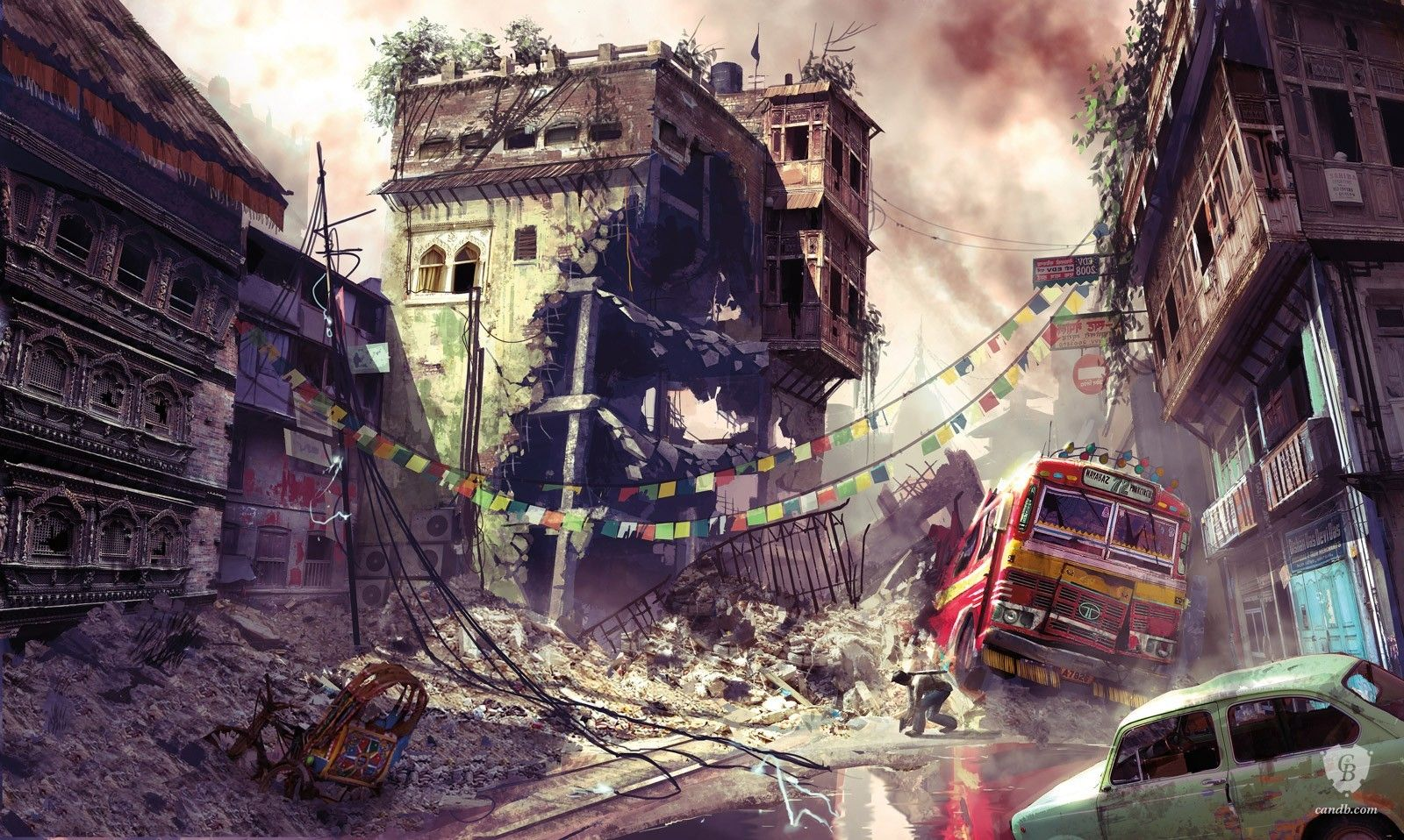 Artwork Warzone Street Scene Uncharted 2 Naughty Dog Uncharted Concept Art Art Challenge