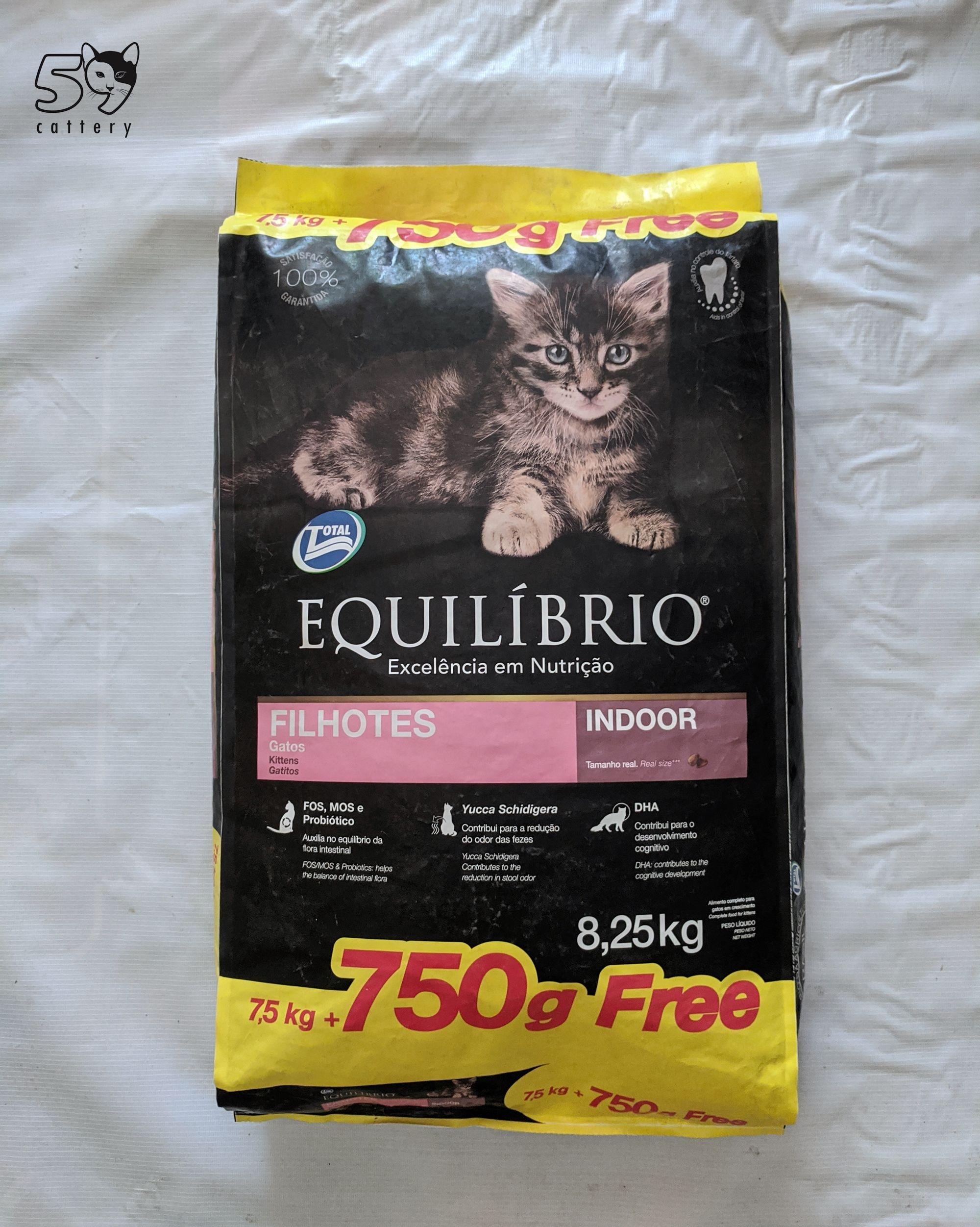 Review Makanan Kucing Equilibrio Kitten Makanan Kucing Nutrisi Anak Kucing