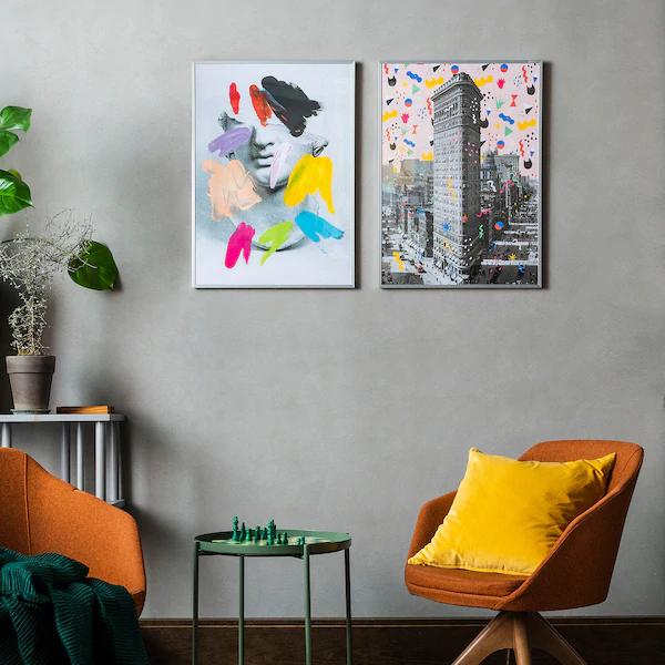 BILD Poster Flatiron NY IKEA Ikea, Cornici, Poster