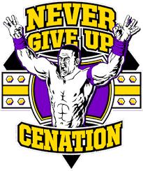 Resultado de imagen para never give up wwe