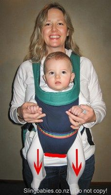 forward baby carrier