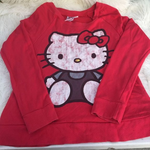Hello Kitty Christmas sweater Hello Kitty Christmas sweater ...