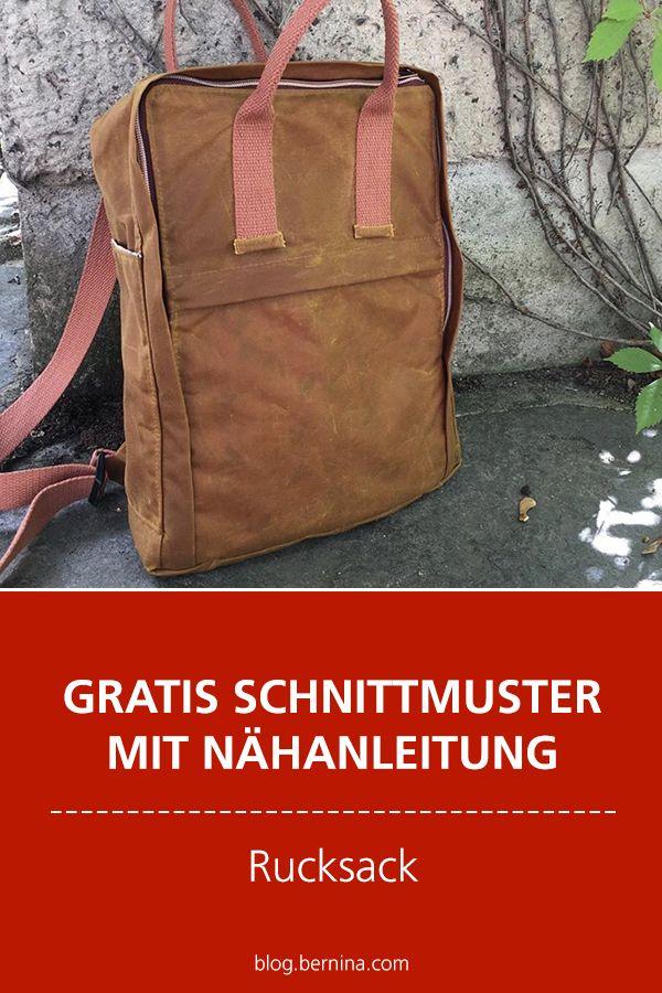 Photo of Gratis Schnittmuster mit Nähanleitung (Freebook): Rucksack nähen