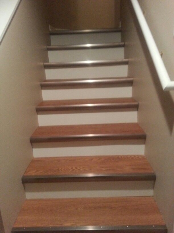 allure vinyl plank flooring basement stairs waterproof pacific pine scratch repair