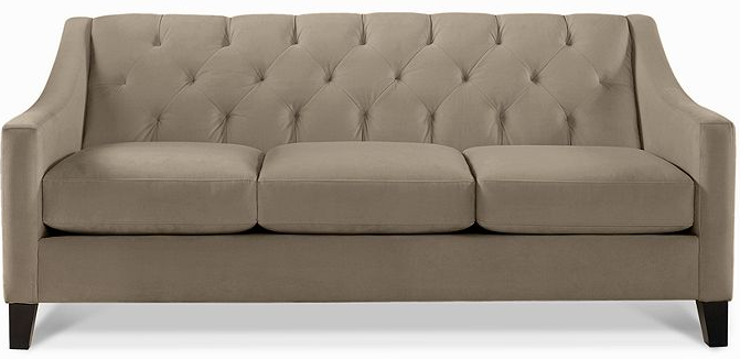 Chloe Sofa From Macy S In Color Granite 76 Wide Living Room