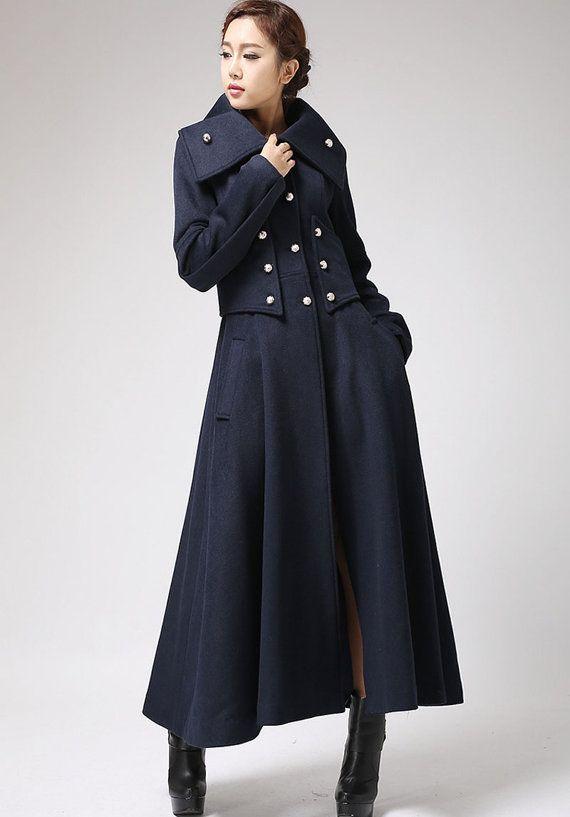 Kaschmir mantel schwarz