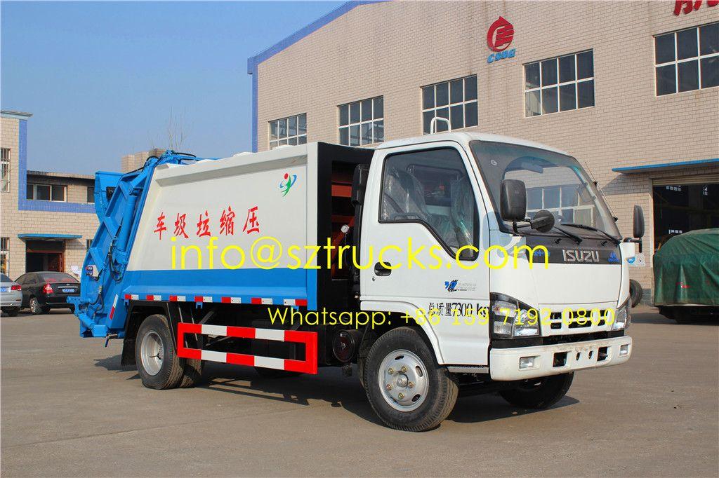 Previous ISUZU 5CBM refuse compression truck Trucks