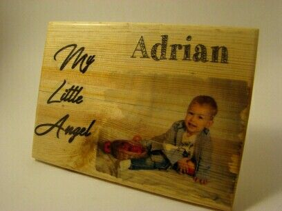 Impresión en madera @troko_madeinwood  @veruska_matriuska #wood #craft #baby #cute