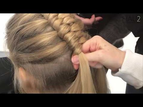 Diy Dutch Infinity Braid Hair Tutorial Braidsandstyles12