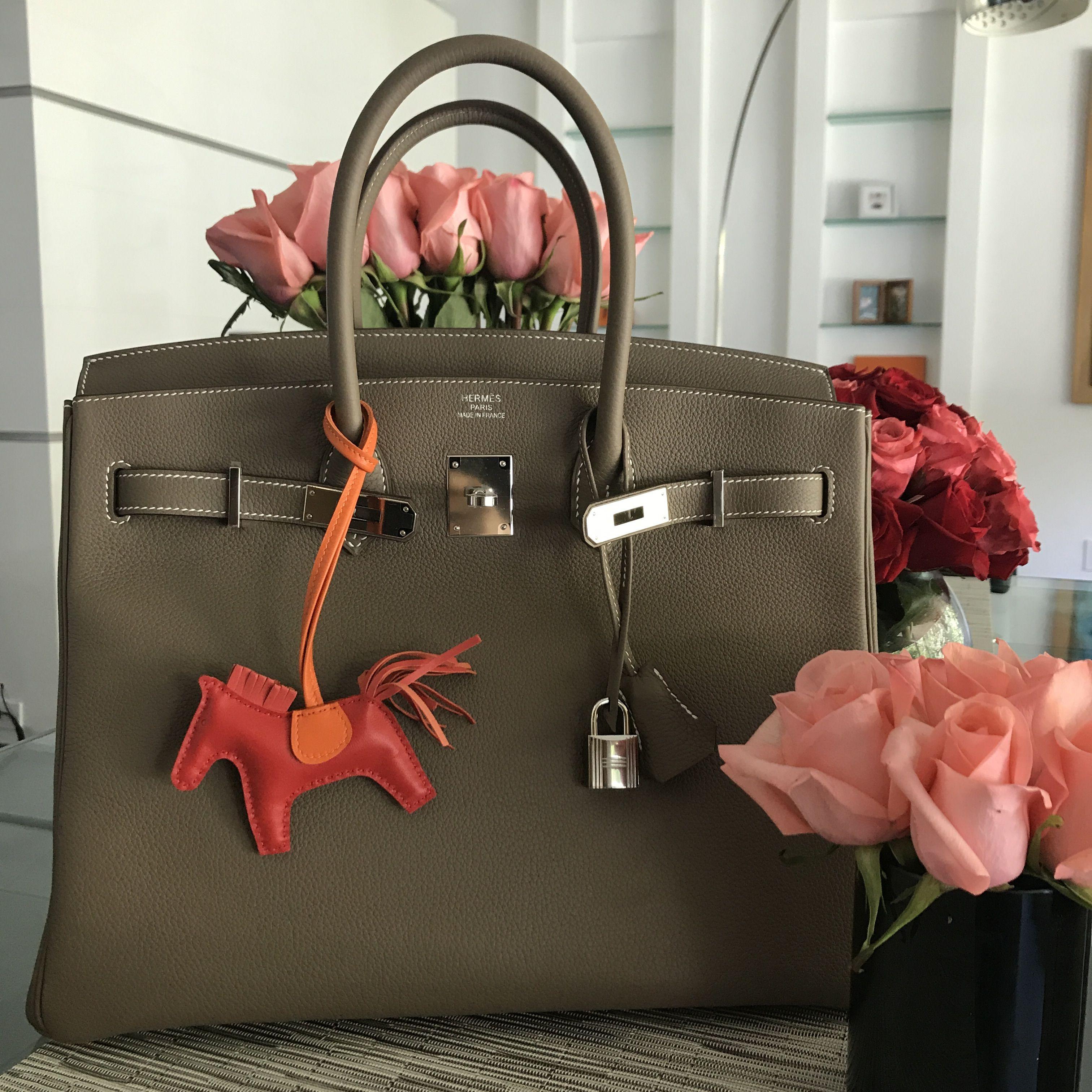 Birkin 35 Etoupe From Luxury Trader Store La Fashion Bags