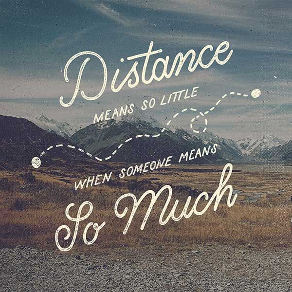 Get Inspired To Start Your Own Hand Lettering Project | Distance, Wisdom  And Long Distance