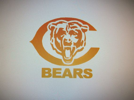 Chicago Bears Football NFL car vehicle auto by CustomVinylDecals4U #Chicagobears #chicagobearsdecals #nfldecals #footballdecals #bearsdecals #vinlydecals #decals #cardecals #customvinyldecals4u