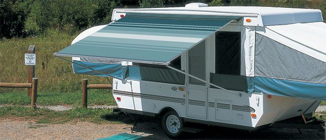 Folding Camping Trailer Awning Carefree Of Colorado Someday