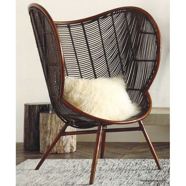 Great The Olaf Chair With Its Sinuous Rounded Lines Inspired By Danish Modern  Designu2026