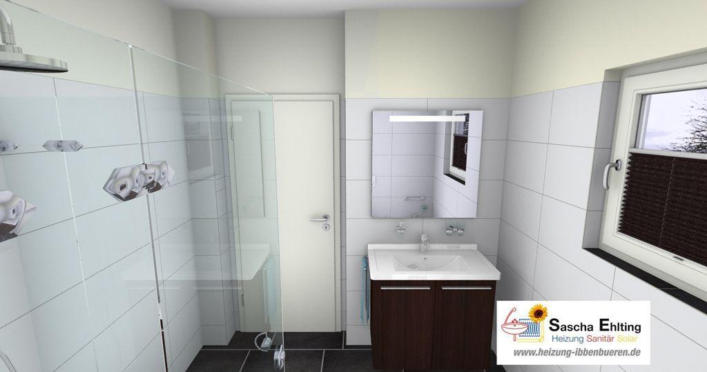 Badezimmer Ibbenburen.3d Badplanung Bei Sascha Ehlting In Ibbenburen Am Aaseebad 3 Mit