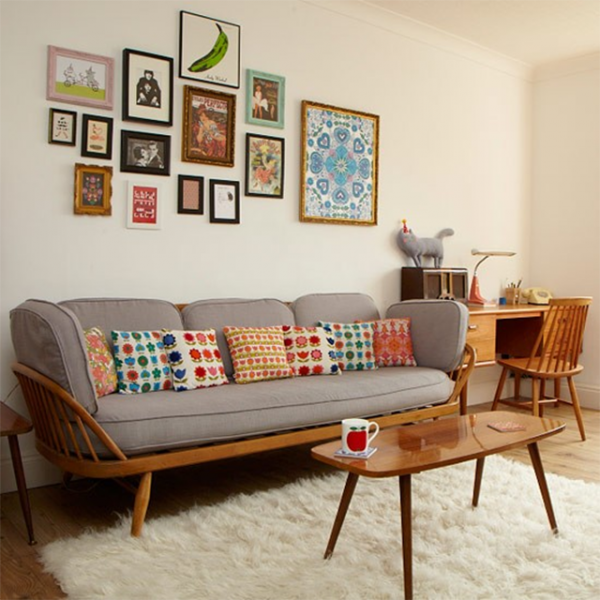 Vintage woonkamer - THESTYLEBOX | Home | Pinterest | Living rooms ...