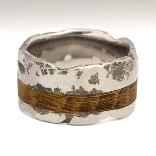 Captivating 21 Alternative Wedding Rings | Alternative Wedding, Titanium Wedding Rings  And Male Wedding Rings